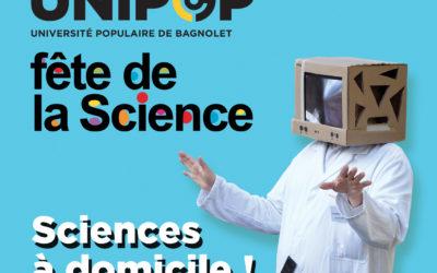 Festival Sciences à domicile du 6 au 14 octobre 2018