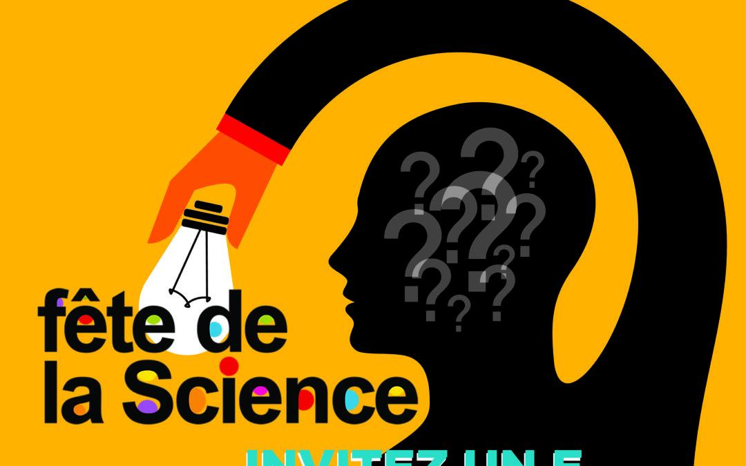 Festival Sciences à domicile ou à deux pas de chez vous ! Du 4 au 20 octobre