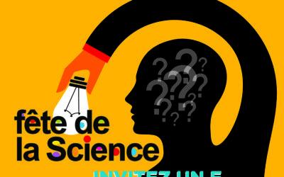 Festival «Sciences à domicile ou à deux pas de chez vous !» Du 7 au 20 octobre 2019